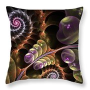 The Wonders Of Nature I Throw Pillow