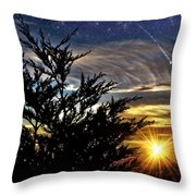 The Wonders Of What Tomorrow Will Bring Throw Pillow