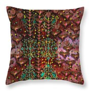 The Wood Of Paradise Throw Pillow