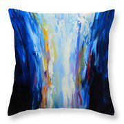 The Word Made Flesh, God Poured Out Throw Pillow