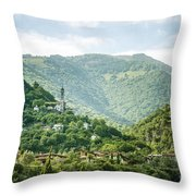 The World Above Throw Pillow