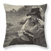 The World Forgetting Throw Pillow