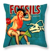 The World Of Giant Throw Pillow