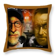 The World Of Steven Spielberg Throw Pillow