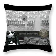 The World War II Memorial Throw Pillow
