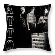 The World We Live Throw Pillow