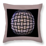 The World Weaved Together Throw Pillow