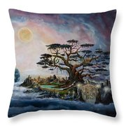 The Worldsaver Throw Pillow