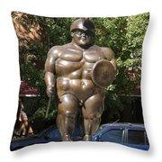 The Roman Worrior 1.0 Throw Pillow