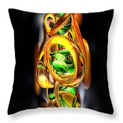 The Wraith Abstract Throw Pillow
