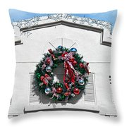 The Wreath Throw Pillow