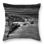 The Wreck Of The Sheraton  Throw Pillow