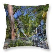 The Wreckers Throw Pillow