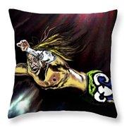 The Wrestler Throw Pillow