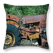 The Wrong Side Of The Tracks Throw Pillow