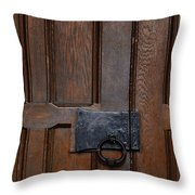 The Wrought Iron Handle Throw Pillow