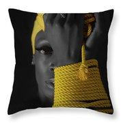The Yellow Throw Pillow