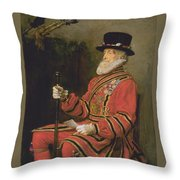 The Yeoman Of The Guard Throw Pillow