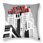The Yorker Throw Pillow