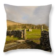 The Yorkshire Dales Throw Pillow