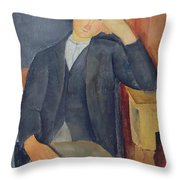 The Young Apprentice Throw Pillow