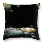 The Young Martyr  Throw Pillow