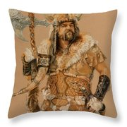 The Young Son Of Bor Throw Pillow by Steven Paul Carlson