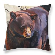 The Zen Of Being Bear Art Print by J W Baker