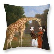 The Zoological Garden Throw Pillow