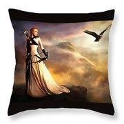 The,archer, Throw Pillow