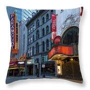 Theater Throw Pillow