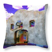 Theater Night Mesilla Throw Pillow