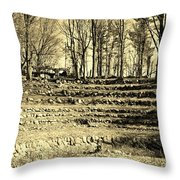 Theater Seating Throw Pillow