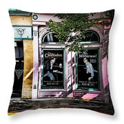 Theatre District Throw Pillow