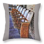 Theatre Seating Throw Pillow