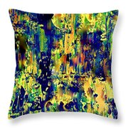 Theatrical Backstage Throw Pillow