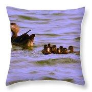 Their Maiden Voyage Throw Pillow