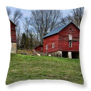 Them Goats Sure Work Hard Throw Pillow