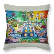 Thematic Colors Lure Throw Pillow