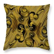 Theme From Indestructible Metamorphosis Throw Pillow