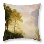 The_merced_river_in_yosemite Throw Pillow