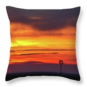 Then Came The Morning Throw Pillow