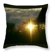 Then There Was Light Throw Pillow
