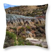 Theodore Roosevelt National Park #1 Throw Pillow