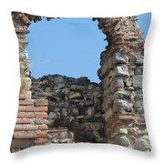 Theodosian Walls - View 17 Throw Pillow