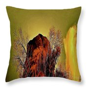 Theophany Throw Pillow