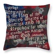 thePledge Throw Pillow