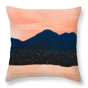 There Are No Mountains In Michigan Throw Pillow
