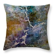 There Is A Crack In Everything Throw Pillow