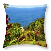 There Is A Paradise - Maui Hawaii Throw Pillow